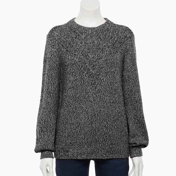 NWT! Sonoma Stitch-Detail Sweater